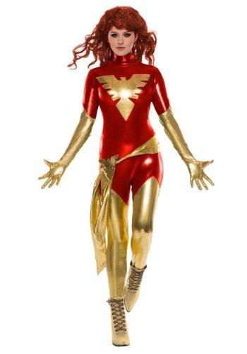 Adult Women's Red Phoenix Costume