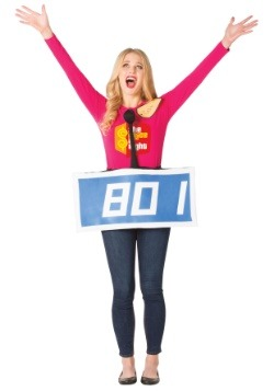 Price is Right Blue Contestant Costume