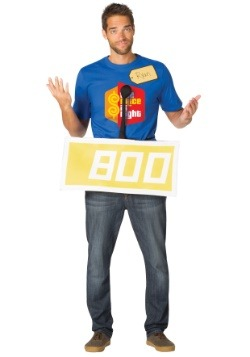 Price is Right Yellow Contestant Costume