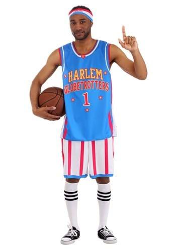Mens Harlem Globetrotters Uniform Costume