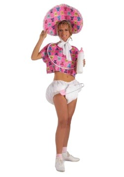 Women's Pink Baby Doll Costume