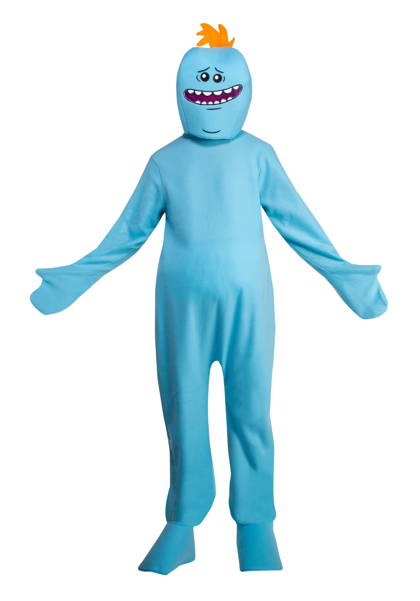 Rick and Morty Mr. Meeseeks Adult Fancy Dress Costume