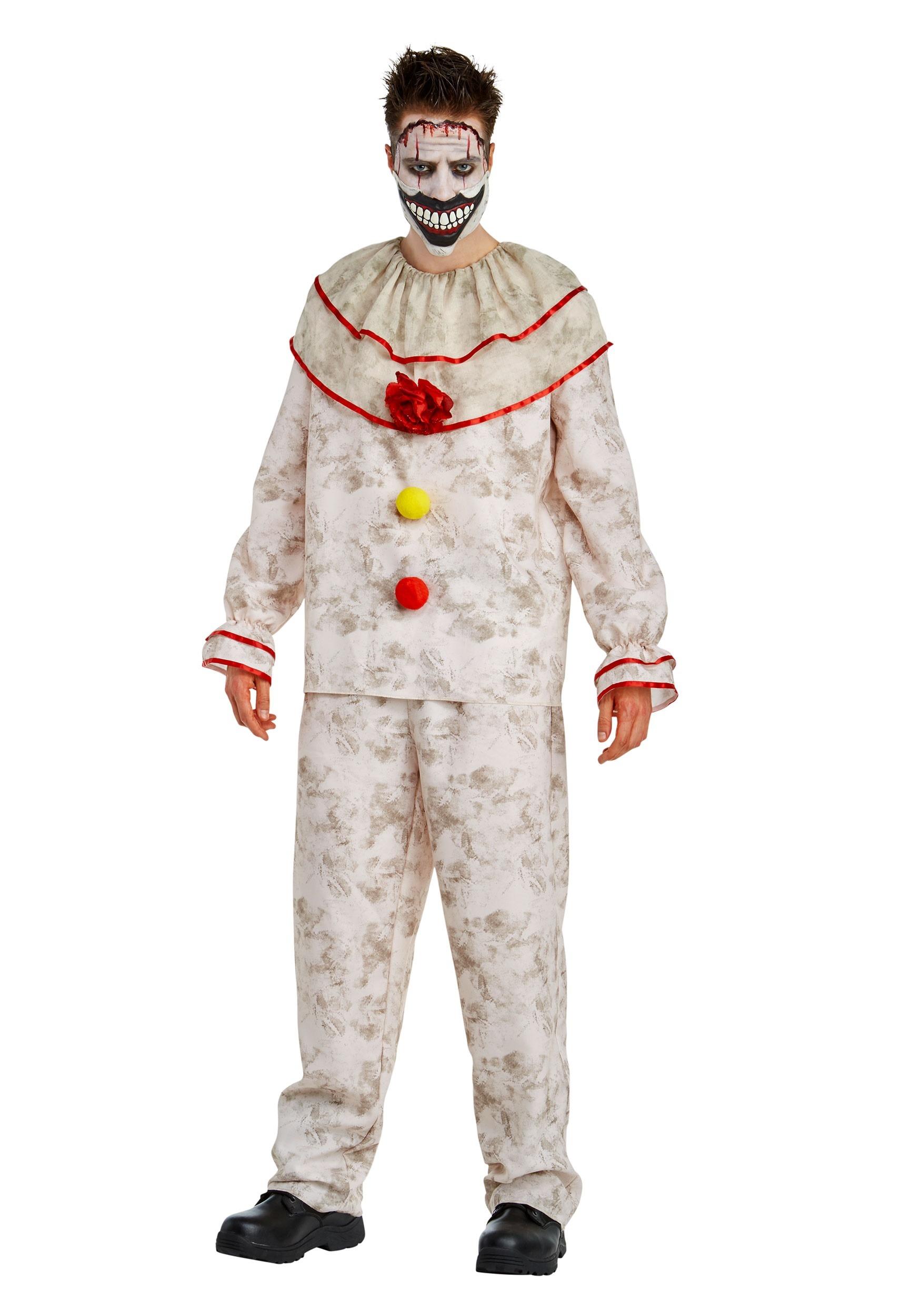 American Horror Story Twisty the Clown Fancy Dress Costume for Men