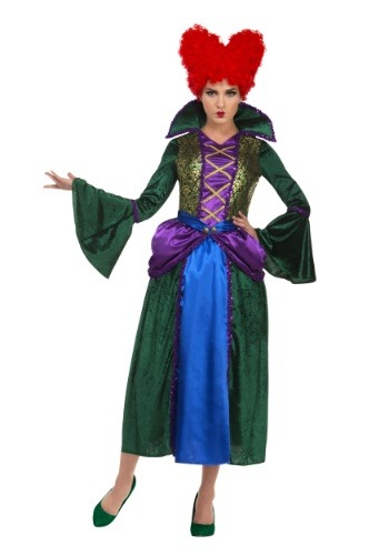 Women's Bossy Salem Sister Witch Costume