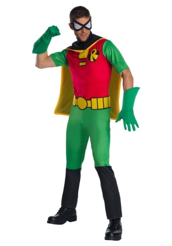 Teen Titans Robin Men's Costume