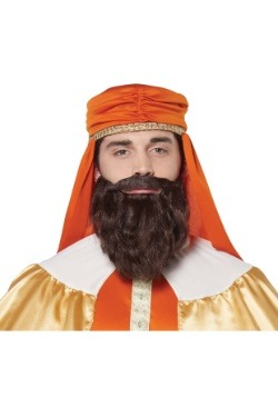 Wise Man Brown Wig and Beard