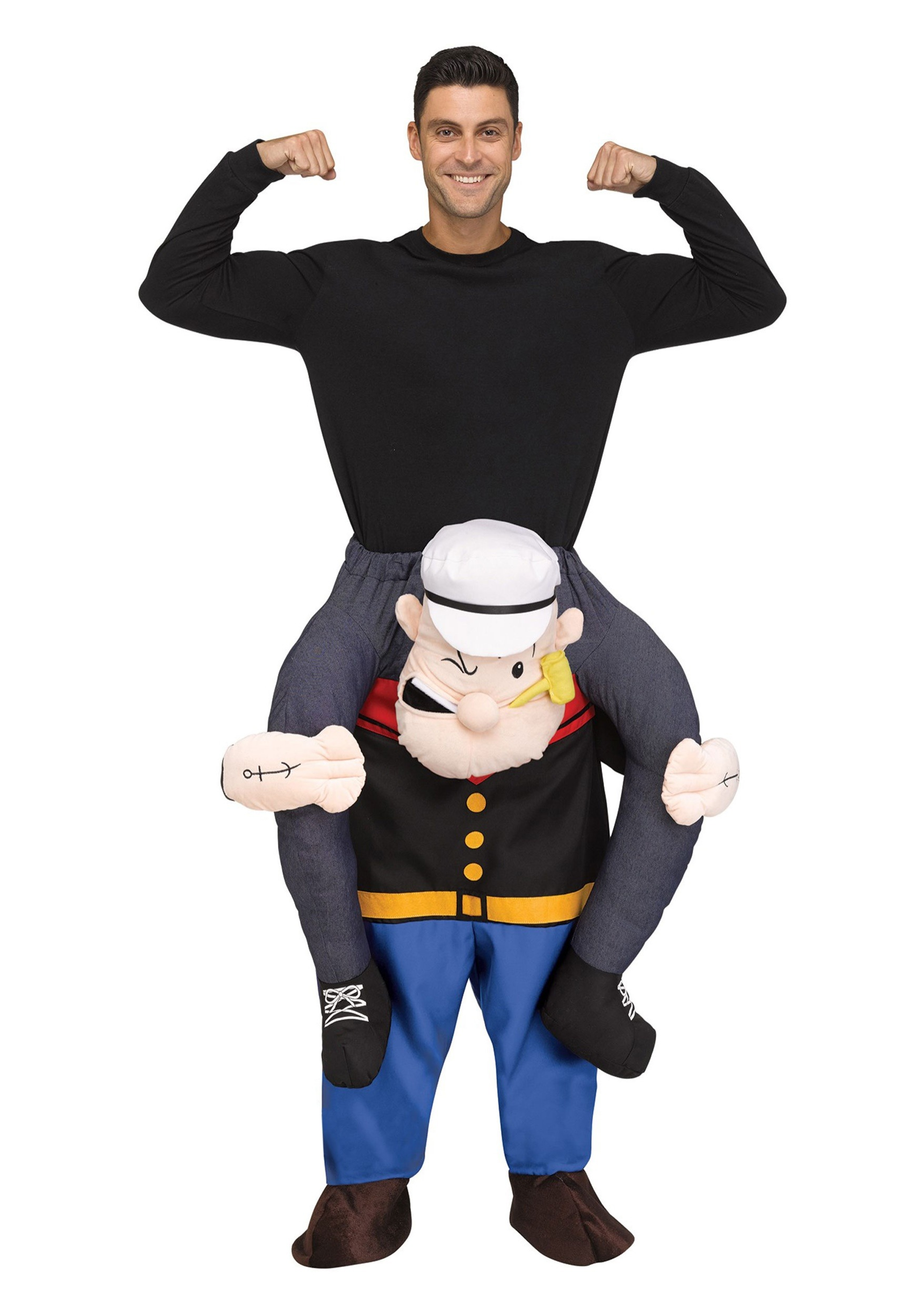 Popeye ride on costume for adults popeye ride on adult costume solutioingenieria Image collections