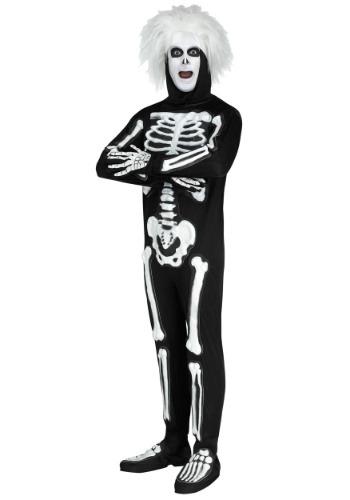 SNL Beat Boy Skeleton Men's Costume