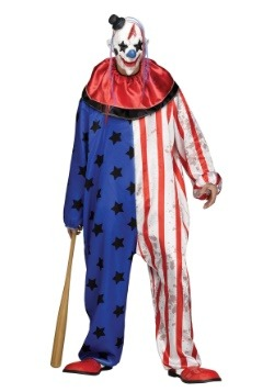 Evil Clown Men's Costume