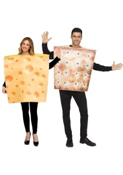 Couples Cheese & Cracker Costume Set