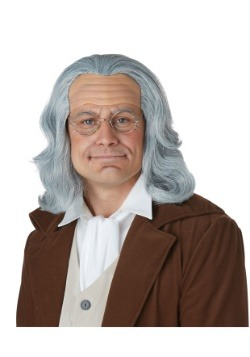 Adult Benjamin Franklin Wig