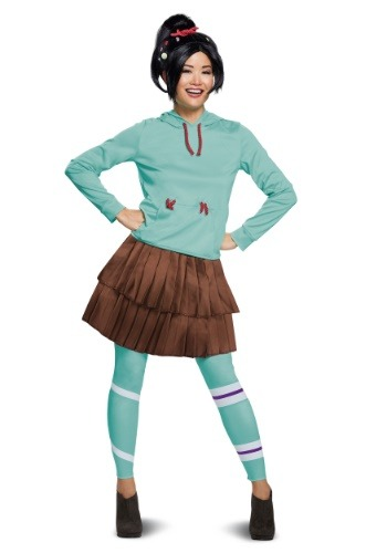 Wreck It Ralph 2 Deluxe Vanellope Women's Costume