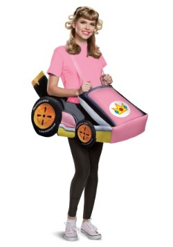 Super Mario Kart Women's Princess Peach Ride In