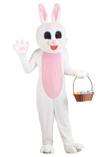 Adult Easter Bunny Mascot Costume