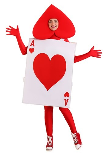 Adult Ace of Hearts Costume