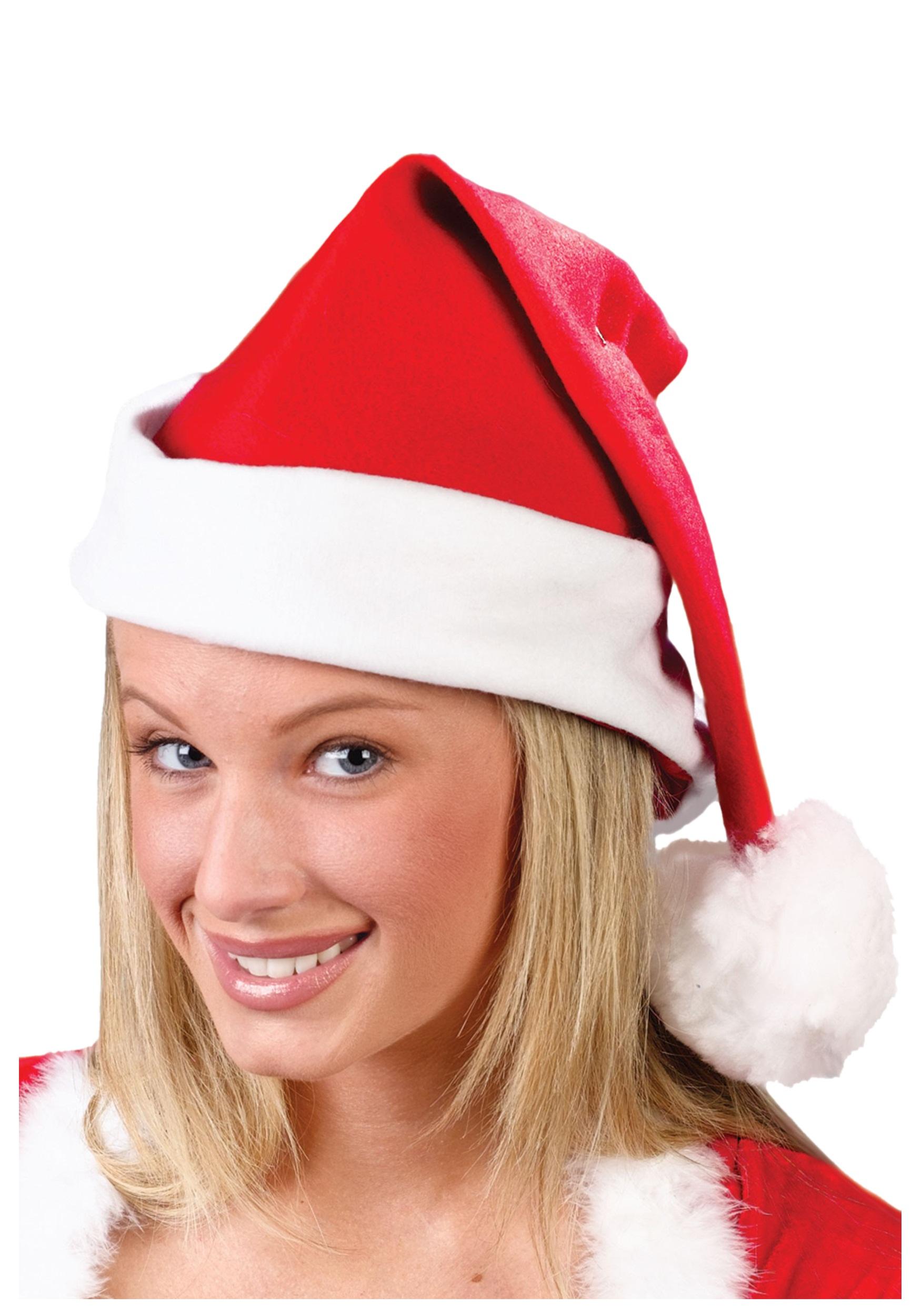 Fleece santa hat