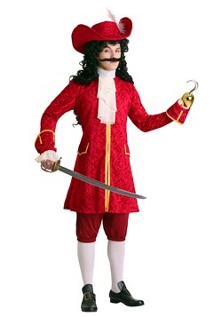 Men's Privateer Pirate Plus Size Costume