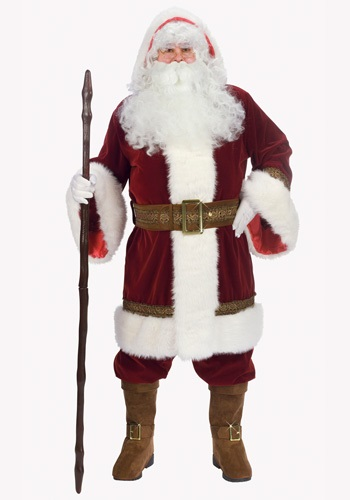 Deluxe Old Time Santa Costume