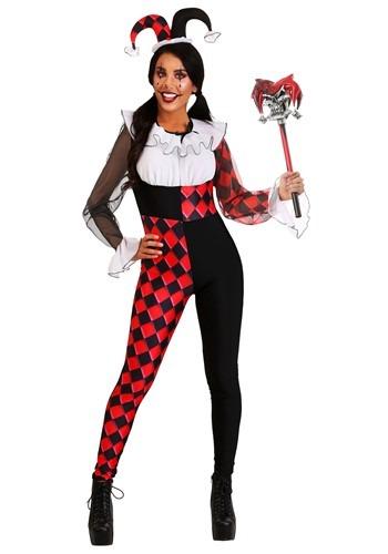 Women's Chiffon Harlequin Costume