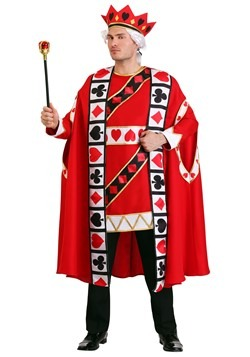 King of Hearts Costume Men's