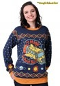Adult Magic School Bus Ugly Christmas Sweater Alt 3