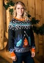 Adult's Narwhal Ugly Christmas Sweater Alt