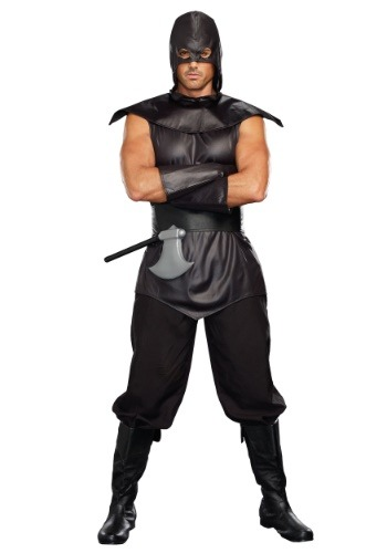 Sexy Executioner Plus Size Men's Costume