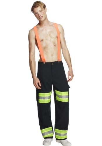 Men's Blazing Hot Firefighter Costume