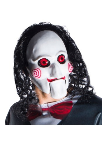 Adult Jigsaw Billy Mask With Hair