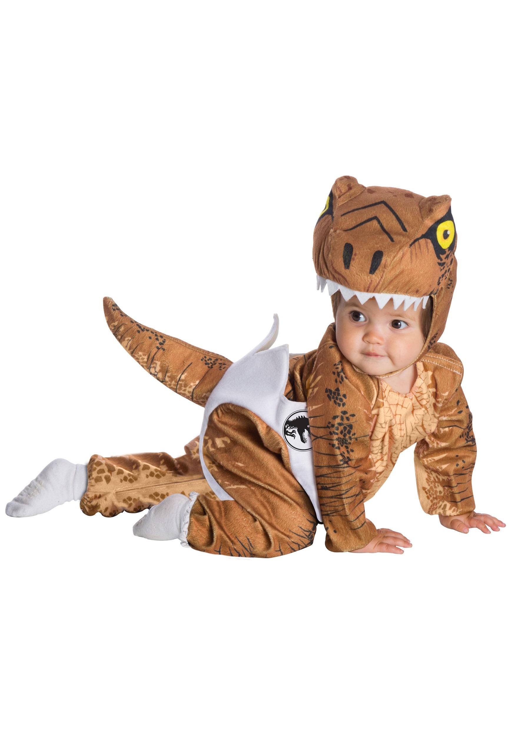 Mri-le1 Toddler Baby Boy Girl Bodysuits Trex Dinosaur Baby Clothes