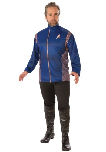 Adult Star Trek Discovery Operations Uniform Costume