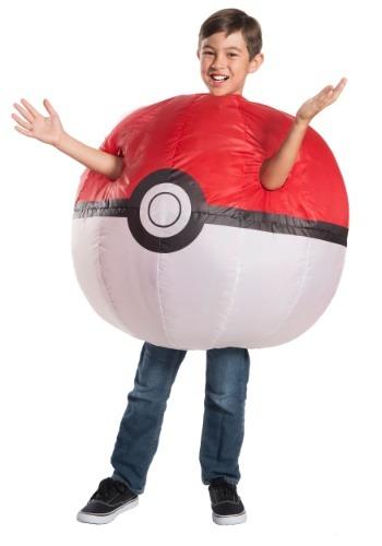 Boys Pokemon Inflatable Pokeball Costume