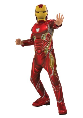 Child Marvel Infinity War Deluxe Iron Man Costume