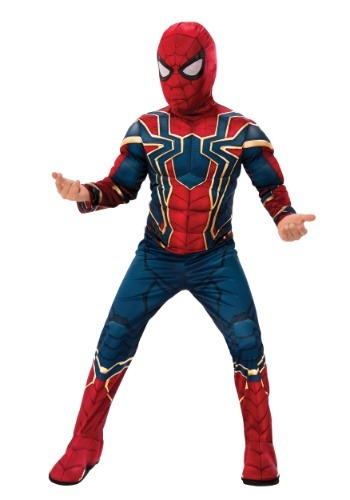 Marvel Infinity War Deluxe Iron Spider Kids Costume