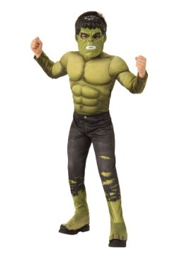 Marvel Child's Infinity War Deluxe Hulk Costume