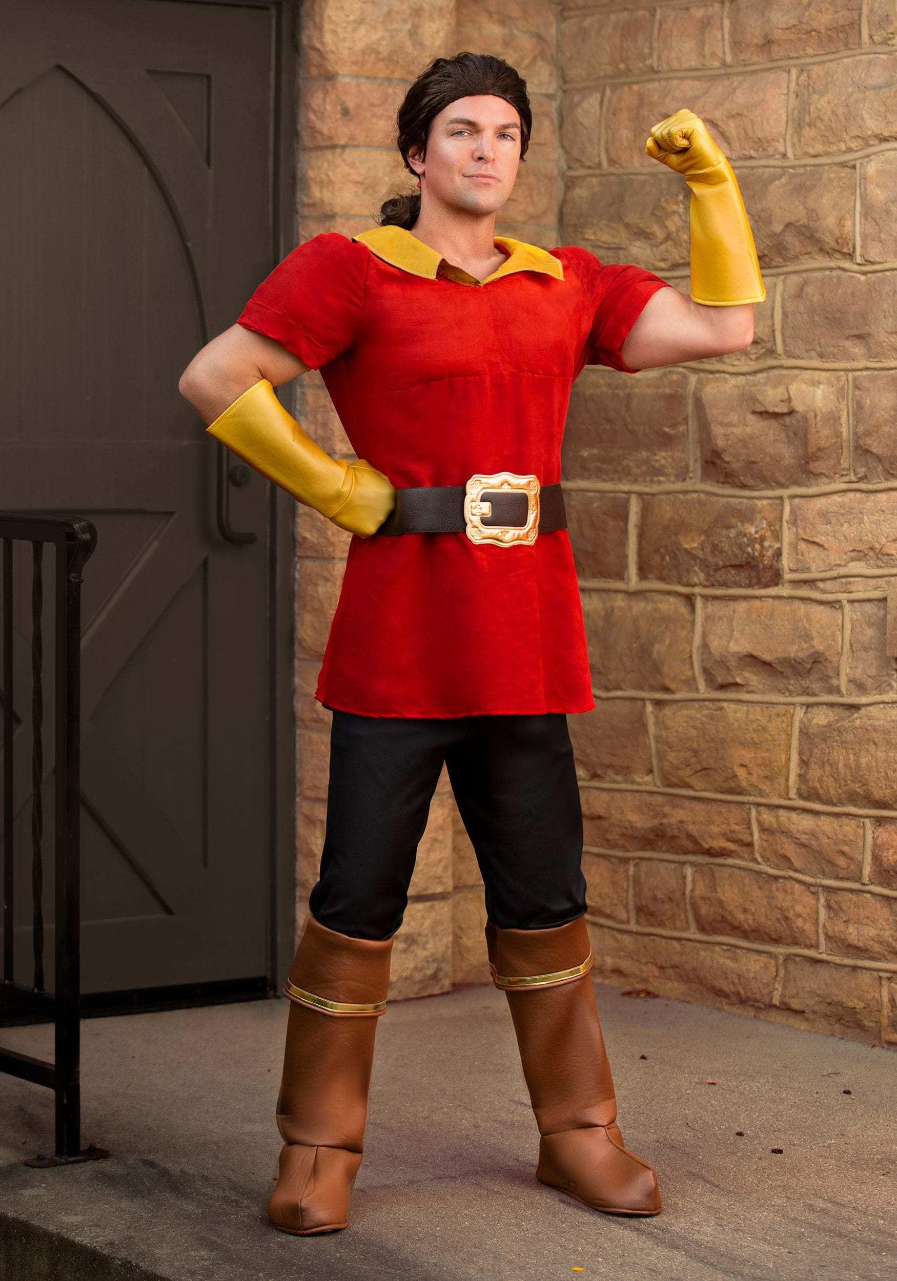 Disney Beauty and the Beast Gaston Fancy Dress Costume for Men
