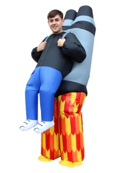 Adult Inflatable Jet Pack Pick Me Up Costume