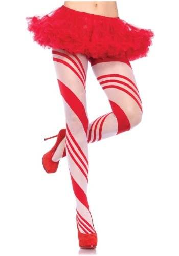 Women's Candy Cane Tights