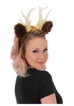 Deer Antlers with Ears Headband