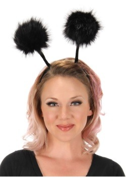 Bendable Bug Pom Antennae Headband