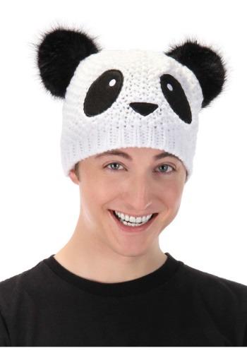 Panda Knit Beanie