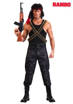 Rambo Men's John Rambo Costume