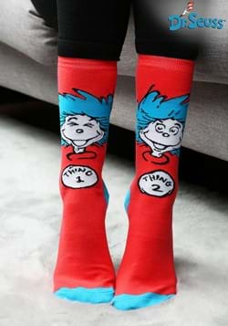 Crew Thing 1 & Thing 2 Socks