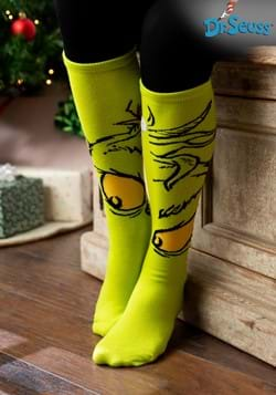 The Grinch Knee High Sock