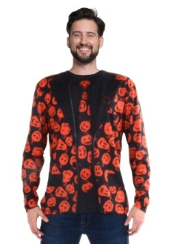 SNL David S Pumpkins Long Sleeve Suit Costume Tee