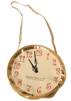Gold Alice Clock Purse