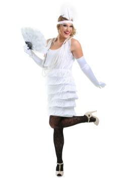 White Flapper Girl Costume