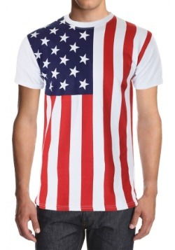Men's American Flag Shirt