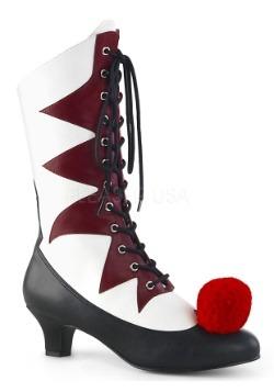 Women's Evil Clown Shoes