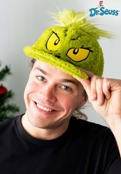 Dr. Seuss Grinch Fuzzy Cap-1